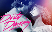Dirty Dancing poster with Man & woman hugging