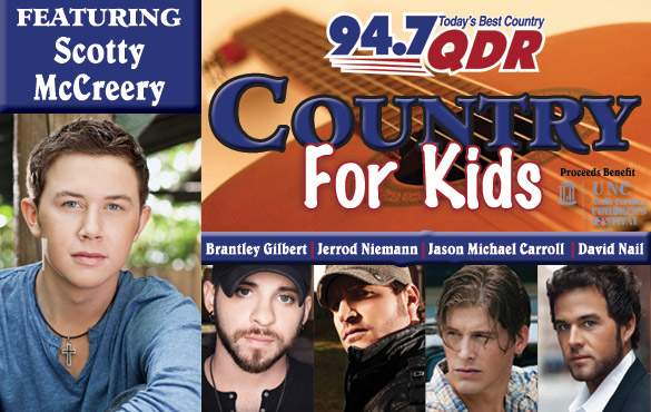 QDR's Country For Kids Concert