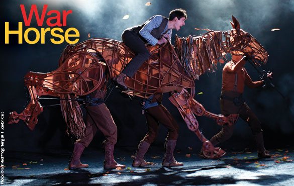 "The Durham Performing Arts Center will present ""War Horse,"" which earned five 2011 Tony Awards®, including Best Play, Oct. 2-7 as part of its 2012-13 SunTrust Broadway Series"